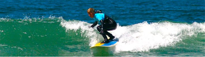 Surfing Right Out Your Front Door